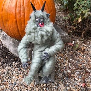 100% handmade Krampus doll decor